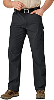EKLENTSON Mens Quick Dry Pants Lightweight Breathable Cargo Pants Outdoor Working Pants with Pockets