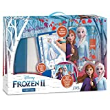 Make It Real - Disney Frozen 2 Fashion Design Tracing Light Table. Kids Fashion Design Kit Includes Light Table, Disney Sketchbook, Stencils, Stickers, Design Guide and More