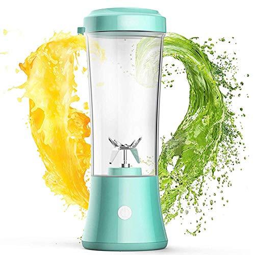 Portable Blender met oplaadbare USB/Mini Fruit Mixer Sap gemalen ijs Smoothie Shake, twee roterende snelheid, gemakkelijk schoon te maken BPA-vrij 350ml