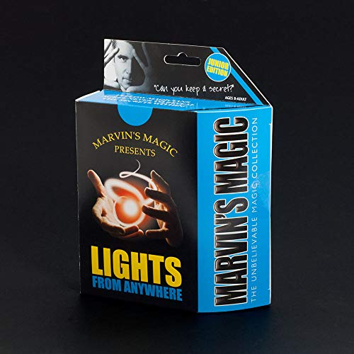Marvin's Magic  MM PM02j.D Lights from Anywhere Junior Tricks Set.Professional magic made easy