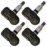 Lot de 4 capteurs de pression de pneus Pacific pour Toyota Auris Avensis Aygo Corolla GT86 Hilux Land Cruiser Prius R