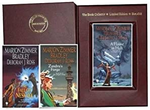 Marion Zimmer Bradley, Deborah J. Ross Clingfire Trilogy Collection: Flame in Hali, Zandru's Forge & the Fall of Neskaya
