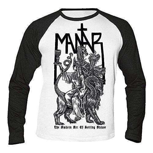 Mantar - The modern Art of Setting Ablaze - Baseball - Langarm - Shirt/Longsleeve Größe S