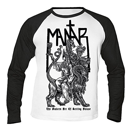 Mantar - The modern Art of Setting Ablaze - Baseball - Langarm - Shirt/Longsleeve Größe M