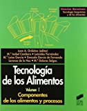 Componentes de los alimentos y procesos: 2 (Ciencias químicas. Tecnología bioquímica y de los alimentos)