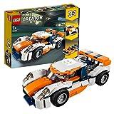 LEGO Creator - Deportivo de Competición Sunset, juguete creativo de coche deportivo para construir (31089) , color/modelo surtido