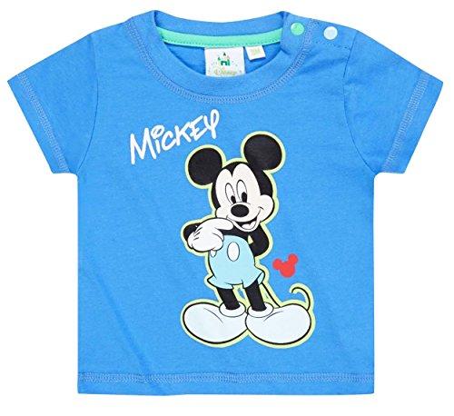 Tee shirt manches courtes bébé garçon Mickey Bleu de 3 à 23mois (6 mois)