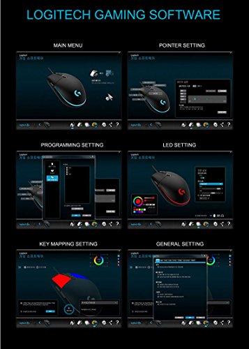 『Logitech G102 IC PRODIGY ゲーミングマウス オプティカル 6,000DPI, 16.8M Color LED Customizing, 6 Buttons -Bulk Package- [並行輸入品]』の6枚目の画像