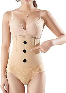EachWell Women Waist Trainer Tummy Control Panties Body Shaper Butt Lifter Shapewear Hi-Waist Briefs