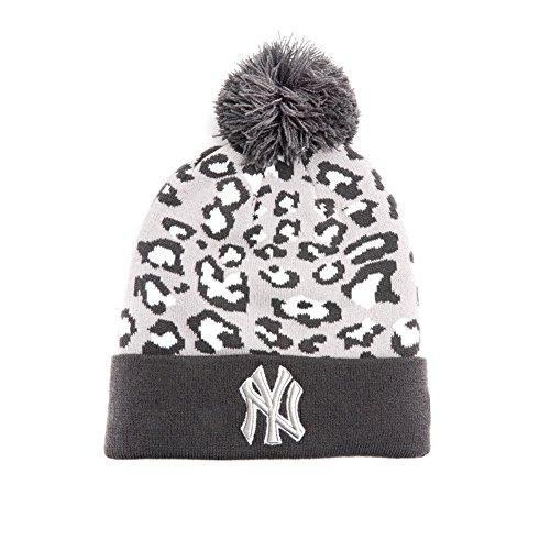 New Era - Bonnet Homme New York Yankees Team Leopard 2 - Grey/White