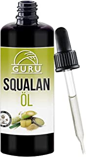Guru Squalane Oil Natural Pure Vegetable Vegan for Silky