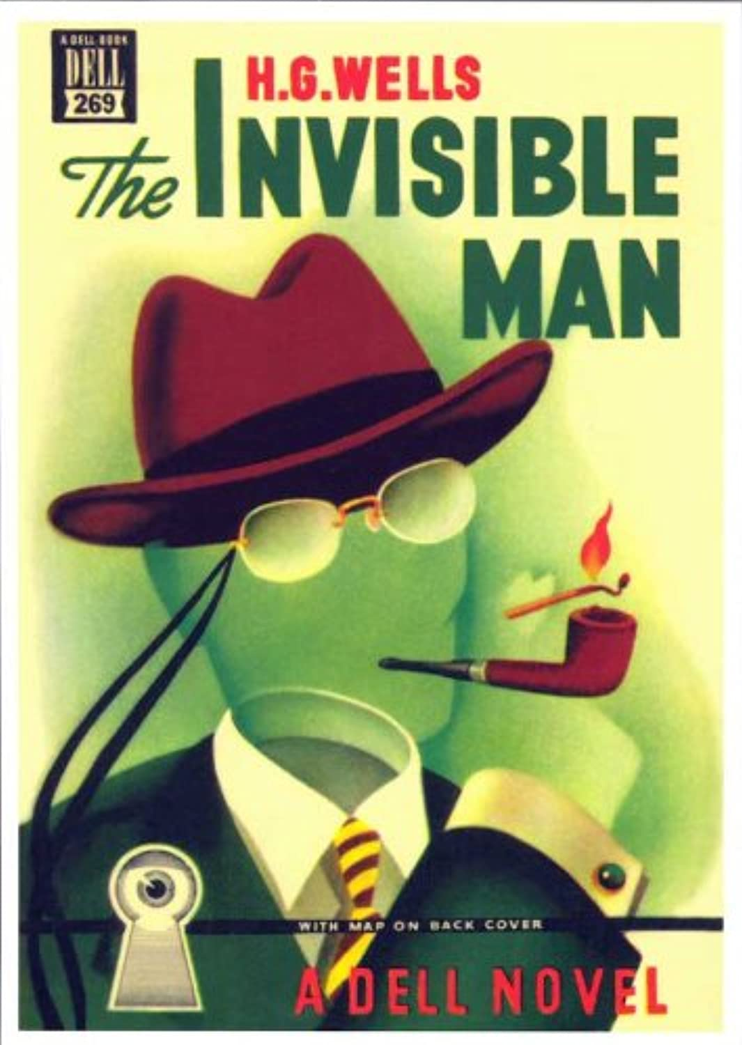 Invisible Man 11 x 17 Retro Book Cover Poster by postersdepeliculas by postersdepeliculas