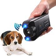PET CAREE Handheld Dog Repellent, Ultrasonic Infrared Dog Deterrent, Bark Stopper + Good Behavior Dog Training
