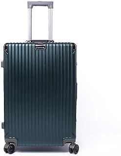 YUMILI Caster Bulk Aluminum Frame Trolley Suitcase Boarding Business Luggage Locks 360 ° Wheeled Suitcase Universal Mute (Color : E, Size : 20inch)