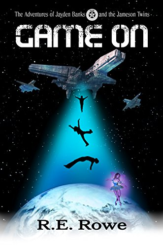 Book: Game On - Alien Space Adventure by R.E. Rowe