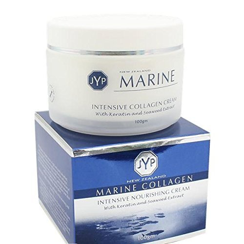 JYP New Zealand Marine Collagen Intensive Nourishing Cream with Keratin and Seaweed Extract, 100g Almond Intensive Facial Cream