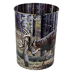 Traditional 10 year anniversary gift idea - tin waste bin