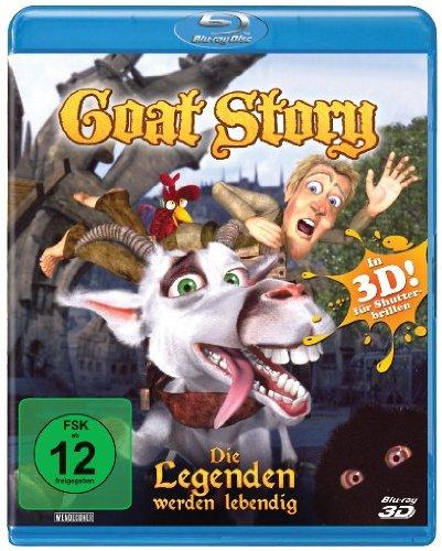 Goat Story - Die Legenden werden lebendig [3D-Blu-ray] *In 3D für Shutterbrillen!*