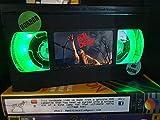 Lámpara retro VHS, The Evil Dead!increíble idea de regalo para cualquier fan de la película, hombre cueva o cumpleaños regalos USB alimentado con mando a distancia