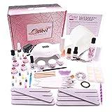 Ocibel - Coffret Kit XL Manucure Faux Ongles Lampe...