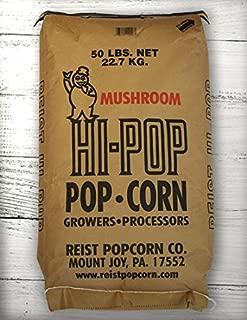 HI-POP Yellow Mushroom Popcorn - Bulk 50lb Bags