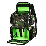 Lixada Fishing Tackle Backpack Multifunctional Fishing Tackle Utility...