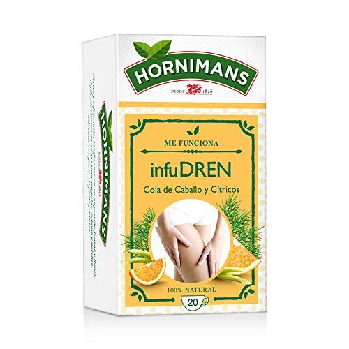 Hornimans - Bolsitas De Té Cola De Caballo Y Cítricos Me Funciona 20 x 1,5 g