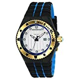 Technomarine Men's Cruise Stainless Steel Quartz Watch with Silicone Strap, Two Tone, 29 (Model: TM-115220)