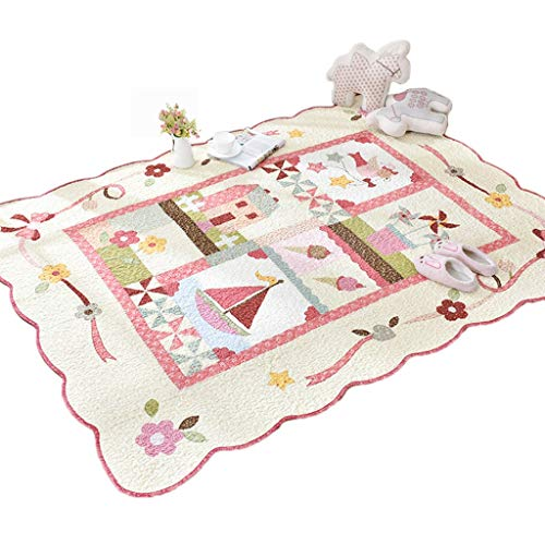 Purchase CarPet Children Crawling Mat,Foldable Washable 200×230cm/78.7in × 90.6in (Color : Pink,...