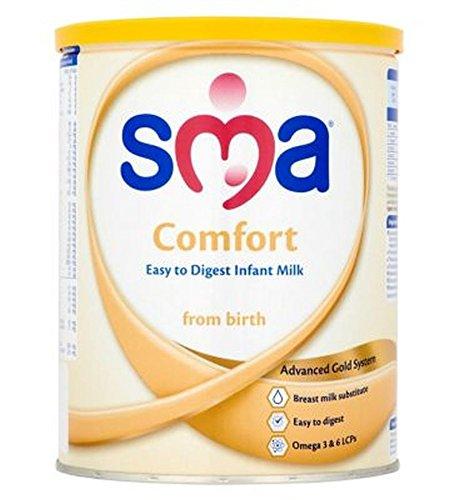 Sma Komfort Leicht Zu Säuglingsmilchnahrung Von Geburt 800G Verdauen - Packung mit 2