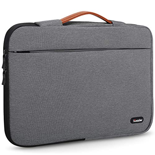 iCozzier 14 Inch Handle Strap Laptop Sleeve Case Protective Storage Bag for 13.3-14' Notebook/Macbook Air/Macbook Pro/Pro Retina Sleeve - Grey