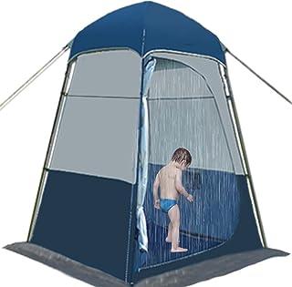 JQDZX Campingtoaletttält, bärbart omedelbart pop up dusch integritetstält UV-skydd solskydd vindtätt solskydd, för byte av...