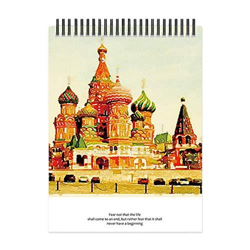 Haorw Cuaderno de bocetos, Cuaderno de bocetos de Acuarela, Bloc de Notas, Cuaderno de Dibujo, Cuaderno de Dibujo, Cuaderno de Dibujo de Acuarela A4, Cuaderno de bocetos de Acuarela 4#