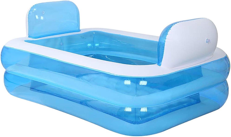 Praktische tragbare Kind Erwachsene aufblasbare Badewanne Sauna Die Faltbare Badewanne QLM-aufblasbare Badewanne und aufblasbares Tauchbad
