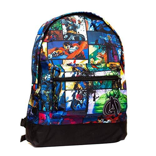 Marvel Roxy Backpack Mochila infantil, 39 cm, 13 liters, Varios colores (Multicolor)
