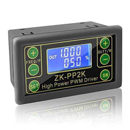 PEMENOL PWM Signalgenerator PWM Motor Drehzahlregler Lichtsteuerung LCD PWM Pulsfrequenz Tastverhältnis einstellbares Modul PWM & PULSE Dual Mode motor Antrieb Controller