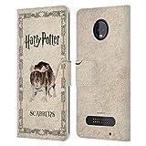 Head Case Designs Officiel Harry Potter Scabbers Rat Prisoner of Azkaban III Coque en Cuir à...