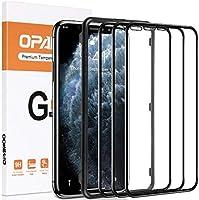 opamoo Verre Trempé pour iphone 11 Pro, [Lot de 3]Protection écran iPhone XS avec Cadre d'Alignement [Couverture...