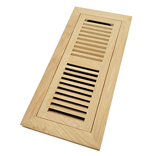 oak flush mount floor register - 8