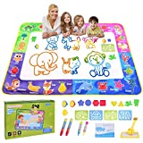 Magic Doodle Mat 60 X 40 Inches Extra Large Water Drawing Mat Educational Toys Gifts for Toddlers Boys Girls Age 3-12 Year Old