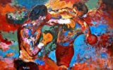ROCKY 3 – Rocky and Apollo Creed Painting – US Imported