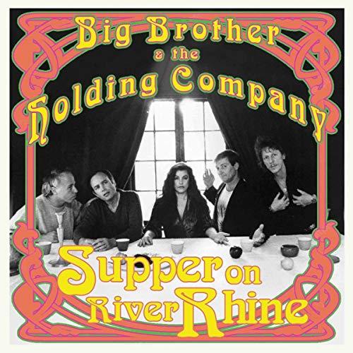 Big Brother & The Holding Company: Supper On River Rhine (Lim.Ed./Green 10'') [Vinyl LP] (Vinyl)