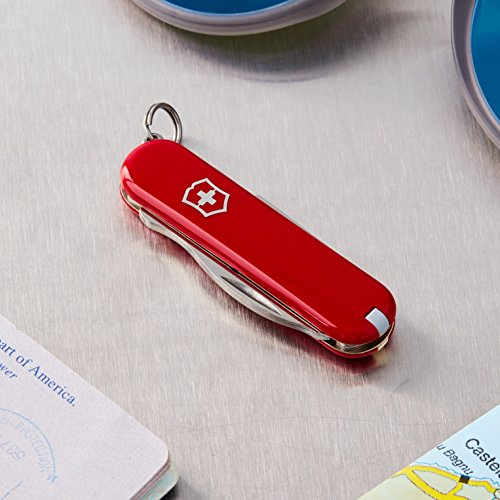 Product Image 1: Victorinox Swiss Army Jetsetter Pocket Knife – 58128 Red ,58mm