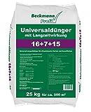 Beckmann Profi Universaldünger mit LZW 16+7+15, 25 kg