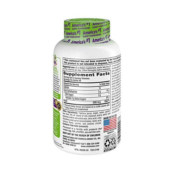 Beauty Shopping Vitafusion Extra Strength Biotin Gummies