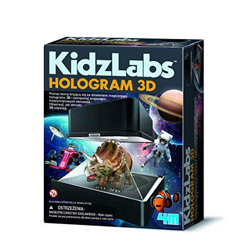 4M- Kidzlabs Proyector Holográfico, Multicolor (403394)