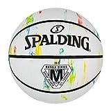 Spalding Marble Series Multicolor Baloncesto al aire libre 29.5 pulgadas