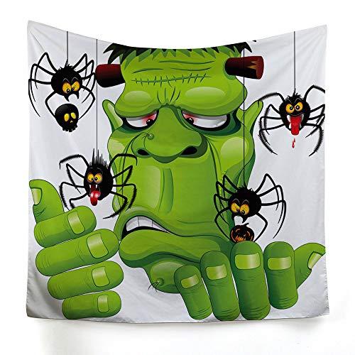 xkjymx Hängetuch Dekotuch Halloween Druckteppich Bild 16 200X150cm