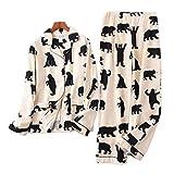 NATASHA& 100% Brushed cottonWomenPajama s AutumnCasualFashionWomenHomewear Sexy s Christmas Socks A L