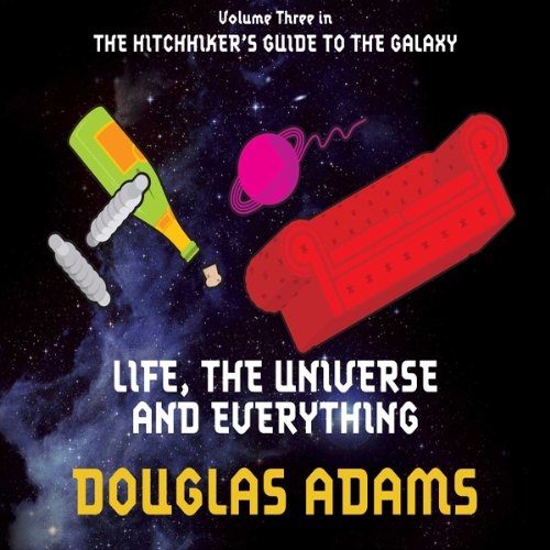 Life, The Universe and Everything audiobook cover art
